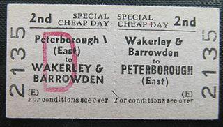 Wakerley and Barrowden railway station