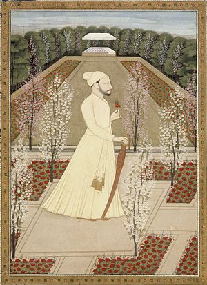 Basholi - Raja Amrit Pal (Reigned 1757-1776) of Basohli