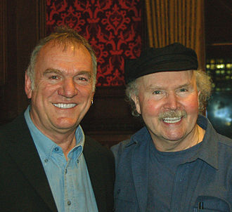 Tom Paxton - Tom Paxton with Ralph McTell (left) in the Palace of Westminster for Paxton's official Parliamentary tribute in 2007