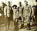 Ralph Faneuf, Mary Pickford, W Lauer, E S Loizeaux - Jan 1919 MPW.jpg