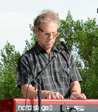 Randall Bramblett - Randall Bramblett performing in Brunswick, Georgia, May 9, 2015