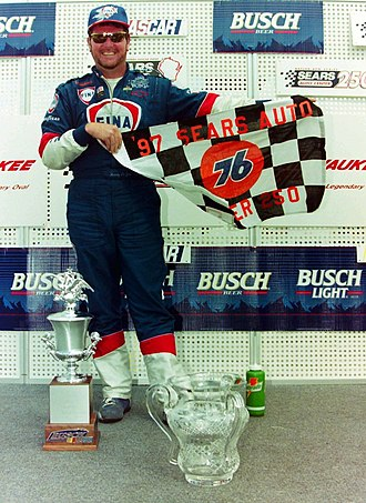 1997 NASCAR Busch Series - Randy LaJoie, the 1997 Busch Series champion