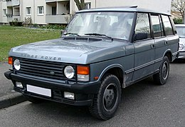 Who Owns Range Rover >> Range Rover Wikipedia