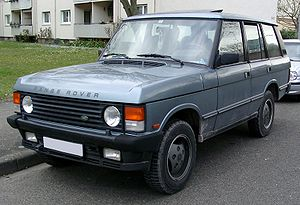 Range Rover - Image: Range Rover front 20080331