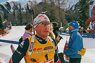 Raphaël Poirée French biathlete