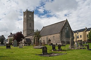 Tyrconnell - St. Eunan's Cathedral was the seat of the Bishop of Raphoe, which formed the religious center of Tyrconnell.