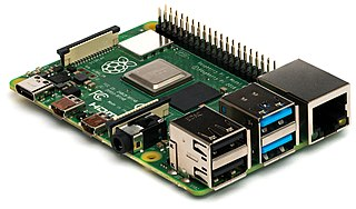 Raspberry Pi Series of cheap single-board computers used for educational purposes and embedded systems