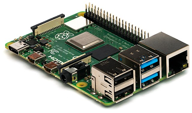 File:Raspberry Pi 4 Model B - Side.jpg - Wikimedia Commons