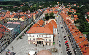 Złotoryja - View of the picturesque Old Town
