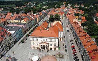 Złotoryja Place in Lower Silesian Voivodeship, Poland