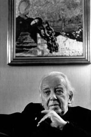 Raymond Léopold Bruckberger - Image: Raymond Léopold Bruckberger (1983) by Erling Mandelmann