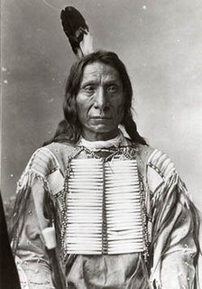 Red Cloud one of the most important leaders of the Oglala Lakota