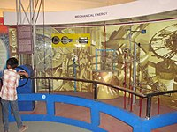 Regional Science Centre, Bhopal - mechanical energy - Rube Goldberg machine.jpg
