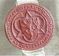 Reinald III van Gelre. Eerste zegel, gebruikt van 20 sep 1344 tot 6 juli 1349.jpg