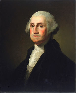 "Rembrandt Peale - ""Portrait of George Washington"" (1795–1823)"