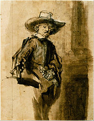 Study for one of the Syndics, Volckert Jansz.