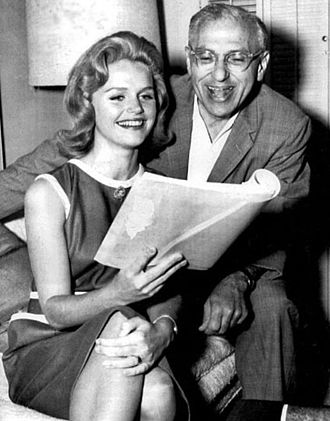 Lee Remick - Rehearsing with director George Cukor in 1962