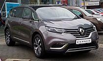 Renault Espace Intens ENERGY dCi 160 EDC (V) – Frontansicht, 2. Mai 2015, Düsseldorf.jpg