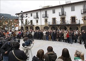 Basque conflict - Demonstrations after every ETA attack were common around Spain