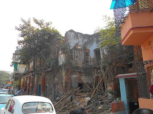 Residence of Hemchandra Bandopadhyay in Khidirpur