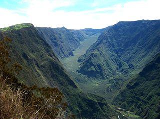 river in Réunion