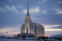 Rexburg, Idaho LDS Temple.