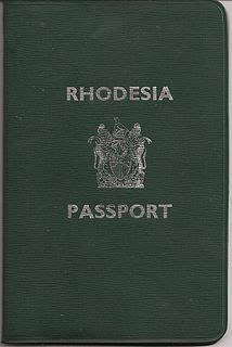 Rhodesian passport