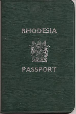 Rhodesian passport - Rhodesia Passport (1970-1979)