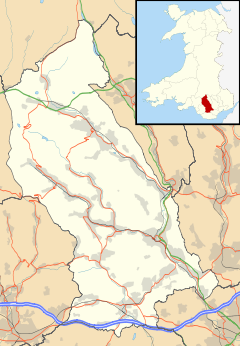 Treherbert is located in Rhondda Cynon Taf