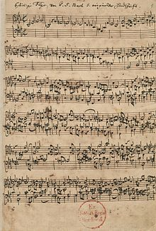 manuscrit : offrande musicale, Ricercare a 6