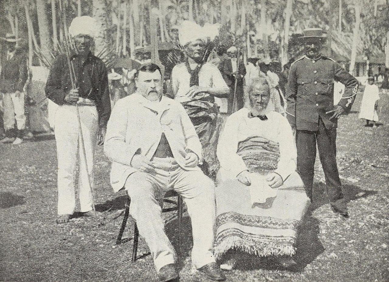 2016 F Type R >> File:Richard Seddon and the King of Niue.jpg - Wikimedia Commons