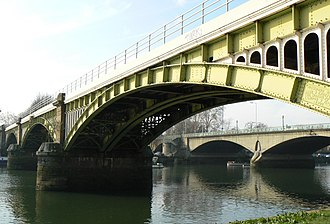 Richmond Railway Bridge - Image: Richmond Railway Bridge 291r 1