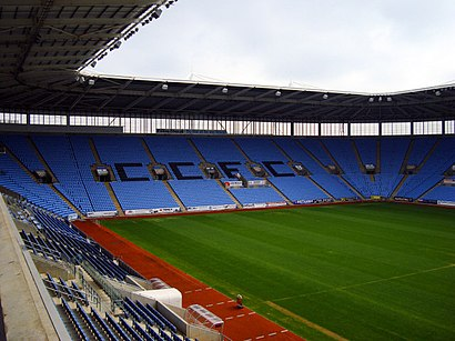 How to get to Ricoh Arena with public transport- About the place