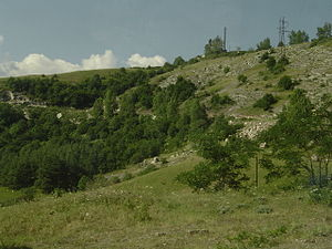Nagorno-Karabakh War - The road leading up to Shusha was the scene of a famous battle between Armenian and Azerbaijani armored vehicles.