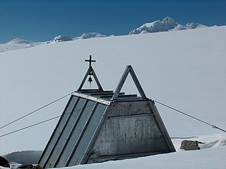 The old premises of St. Ivan Rilski Chapel in Antarctica Rilski.jpg