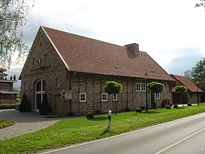Johann Christoph Rincklake - Birthplace of Johann Christoph Rincklake - originally stood in Harsewinkel, moved to near Marienfeld Abbey in summer 2005