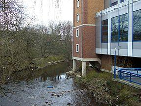 River Don at Hillsborough stadium.jpg
