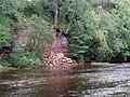 Riverbank erosion . - geograph.org.uk - 467824.jpg