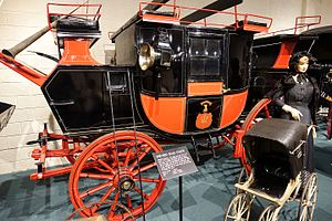 Holland & Holland coachbuilders - Image: Road coach, made by Holland & Holland, London, England, 1840 1850 Luray Caverns Car and Carriage Museum Luray, Virginia DSC01162