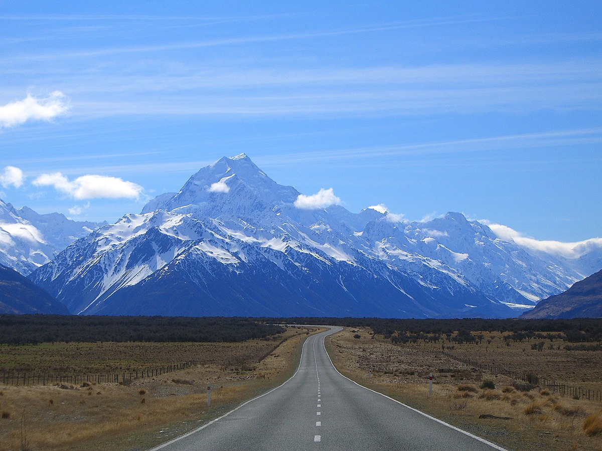 New Zealand: List Of Mountains Of New Zealand By Height