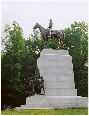 Frederick William Sievers - Virginia Memorial, Gettysburg Battlefield, Gettysburg, Pennsylvania.