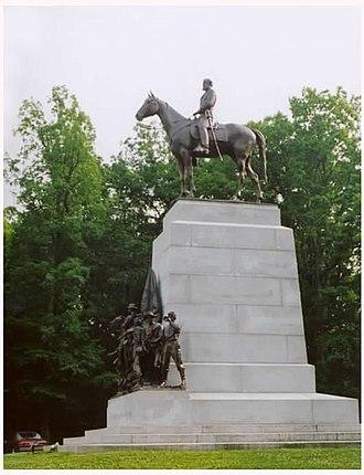 Frederick William Sievers - Virginia Memorial, Gettysburg Battlefield, Gettysburg, Pennsylvania.