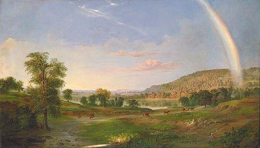 RobertDucanson-Landscape Rainbow 1859
