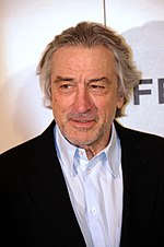 Photo o Robert De Niro at the 43rd Karlovy Vary Internaitional Film Festival in 2008.