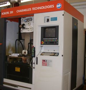 Electrical discharge machining - CNC Wire-cut EDM machine