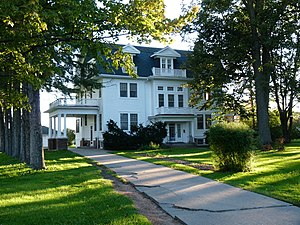 Marshfield, Wisconsin - The Hamilton and Catherine Roddis House was built in 1914.
