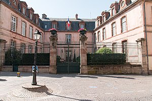 Aveyron - Prefecture building of the Aveyron department, in Rodez