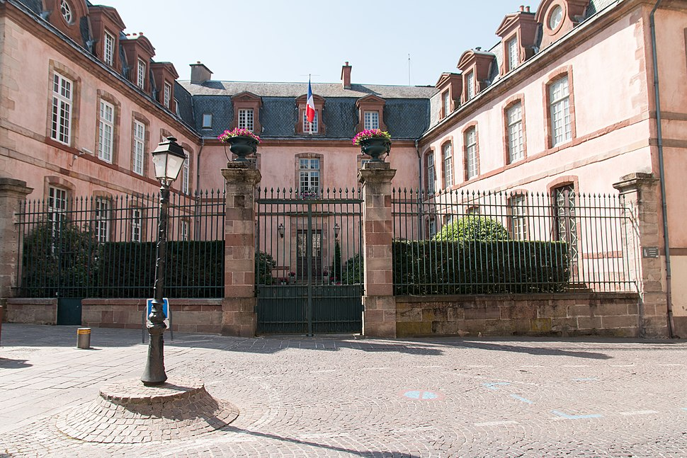 Prefecture building of the Aveyron department, in Rodez