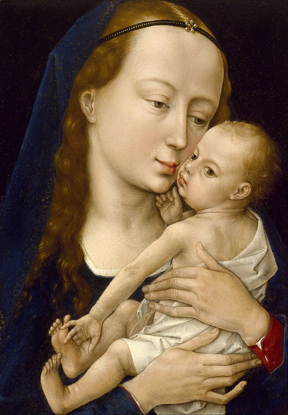 Rogier van der Weyden - Virgin and Child - Google Art Project