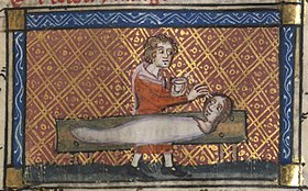 Roman de la Rose f. 130r (Pygmalion's story, working on his sculpture).jpg